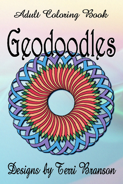 Geodoodles, a coloring book for adults